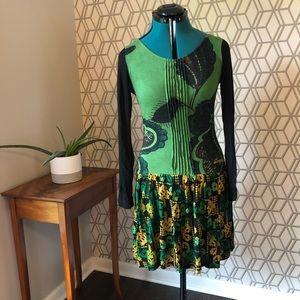 Desigual long sleeve dress